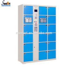 Public design 18 door barcode system electronic locker