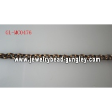 Fashion jewelry chain Antique Copper