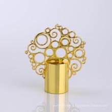 Tampão de garrafa autêntico do perfume da coroa do zinco do fornecedor