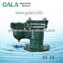 Válvula de ventilação flangeada
