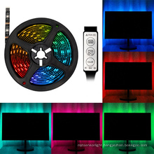 Wifi Smart LED Light Strip RGB Digital Pixel Lighting and Circuitry Design DC 12V 80 2700K (soft Warm White) PVC Compatible 14.4