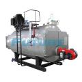 Caldeira a vapor a óleo ou a gás industrial