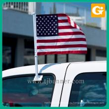 Профессиональный OEM полиэфира объединенный стенд флаг автомобиля
