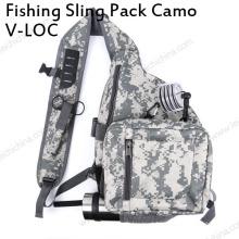 Novo pacote de sling de pesca com mosca Camo Bag