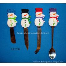 Spreizer mit Harz Schneemann Griff für Weihnachtsdekoration