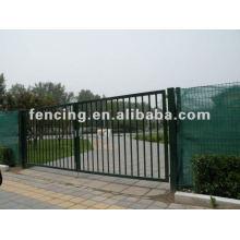 PVC-beschichtetes Schiebetor für Zaun (10 Jahre Fabrik)