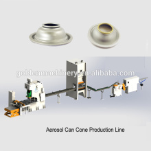 Automatic Aerosol Tin Can Cone Lid Production Line