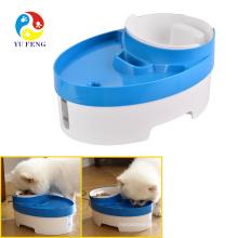 El alimentador automático más nuevo del animal doméstico del perro de la fuente de agua de la planta de agua potable