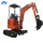 2000kgs mini crawler excavator with good quality