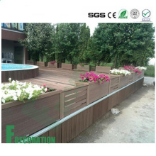 Outdoor Wood Plastic Composite Commercial Grade Wood WPC Flooring
