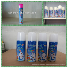 ampliamente use aerosol de nieve de carnaval
