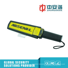 Government Building Durable Metal Detector Light Weight Portable Metal Detector