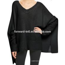 дизайн мода batwing рукавом пуловеры высокое качество