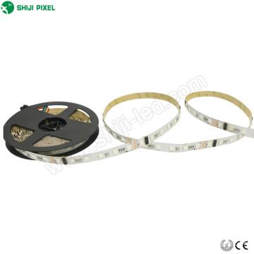 Regleta direccionable programable rgb 25 metros Controlador DMX 24 voltios iluminación tira llevada