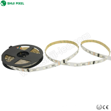 Programmable addressable led strip rgb 25 meter DMX controller 24 volt led strip lighting