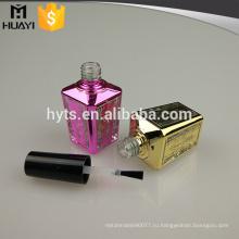 15мл на заказ UV покрытие уникальная пустой гель для ногтей бутылки