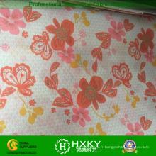 Tissu en mousseline de soie d'impression pour la mode dames robe et chemises