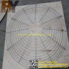 Cubierta protectora del ventilador de la parrilla del ventilador de la parrilla del metal