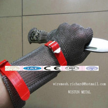 Long-Sleeve Stainless Steel Protective Gloves / Long-Sleeve Butcher Gloves