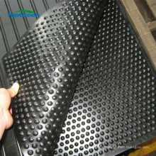 manufacture cheap pebble rubber stalbe horse cow mat