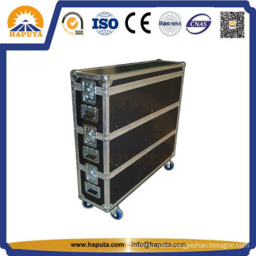 Aluminum Flight Case with Wheels for Stage Sound (HF-1306)