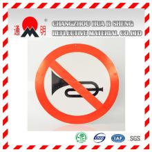 Type animal annonce Grade réfléchissante revêtement vinyle pour les enseignes publicitaires AVERTISSEMENT Board (TM3100)