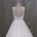 Brautkleid mit Blumen auf die Taille Brautkleid