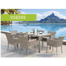 Garden Outdoor Wicker Rattan Dining Set