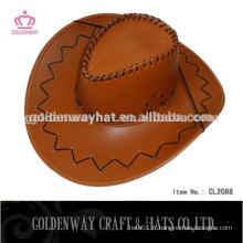 Chapeau de cowboy de feuille de palmier pour homme
