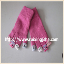 girls cute cartoon five fingers gloves