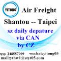 Shantou Air Freight Logistics Agent to Taipei