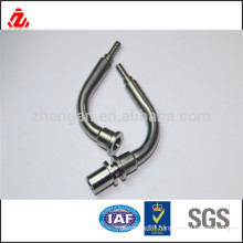 CNC machining stainless steel bending tube