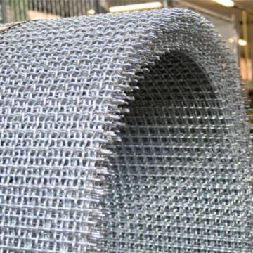 Rede de fio apertado de aço inoxidável