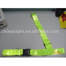 EN471 Reflective safety cross Waist Belt with PVC tape