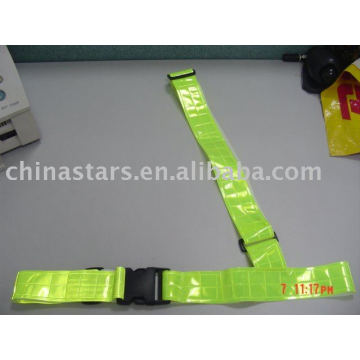 EN471 Reflective safety cross Waist Belt with PVC tape