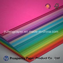 Unbeschichtetes Holz Zellstoffverpackung Druck Spezielles Farbpapier