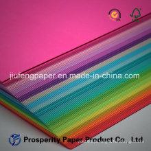 Embalagem de celulose não revestida Embalagem Impressão Papel especial de cor