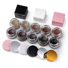 Create Your Own Brand Waterproof medium brown eye brow gel makeup private label eyebrow pomade