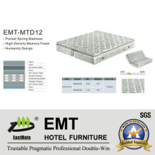 High- Class Hotel Bedroom Mattress (EMT-MTD12)