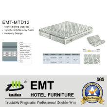 Colchão dorminhoco do quarto do hotel (EMT-MT4 + T)