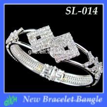 Yiwu New Fashion bangle shine O último bracelete dourado
