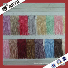 curtain polyester yarn tassel fringe brush trimming