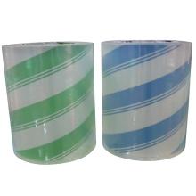 Film de stratification BOPP (30um) pour la stratification avec des étiquettes de papier imprimées.