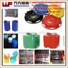 Molde plástico do tampão da injeção do corredor quente de 12 cavidades feito em China / na fabricação plástica do molde do tampão dos lubrificantes da injeção