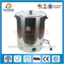 caldera de agua caliente comercial del acero inoxidable, caldera eléctrica