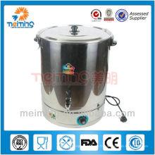 chaudière à eau chaude commerciale en acier inoxydable, bouilloire électrique