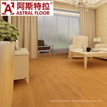 12mm Popular Teak Color HDF Material Laminate Flooring