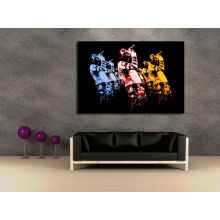 Abstract Singers Picture Wall Art