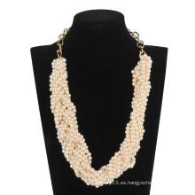 Collar de cuentas de perlas (XJW13607)