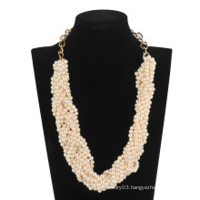 Pearl Beads Necklace (XJW13607)